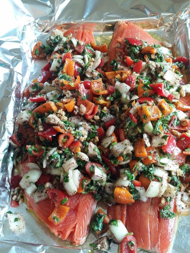 Fish raw